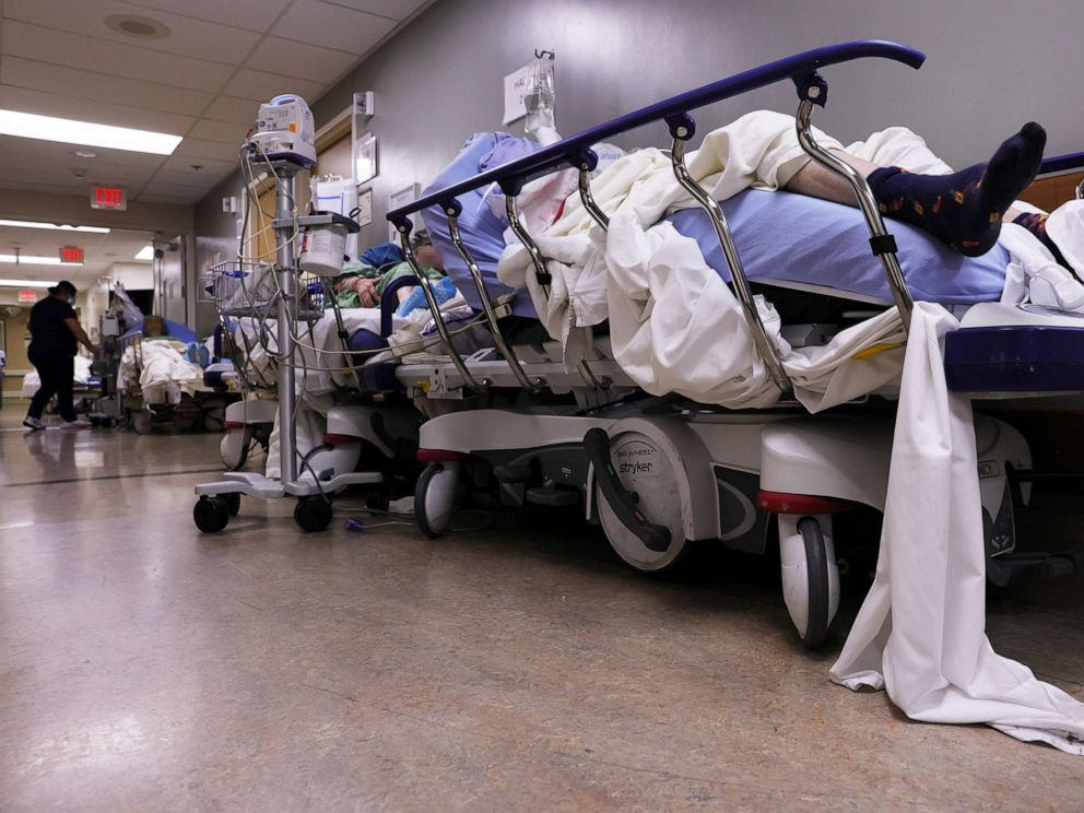 U.S. Health Care And Front Line Workers Refuse Vaccine Amid Record High COVID-19 Deaths 1 california hospital covid 01 gty jt 210108 1610137386618 hpMain 4x3 992 1